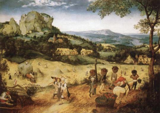 Brueghel haymaking