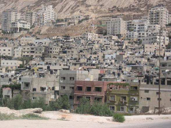 West bank refugee camp