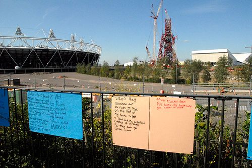Stratford re olympic Hughs pic