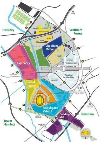 Olympic park neighbourhoods
