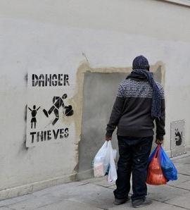 Banksy theft