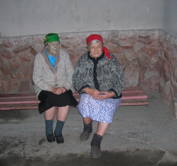 Ladies in Bishkek