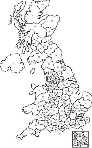 Postcode map