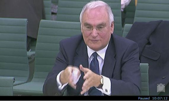 Wilshaw at select committee