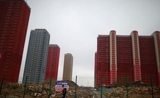 Red road flats