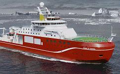 Polar research vessel